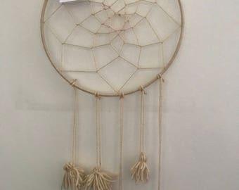 Dream catcher with tassels