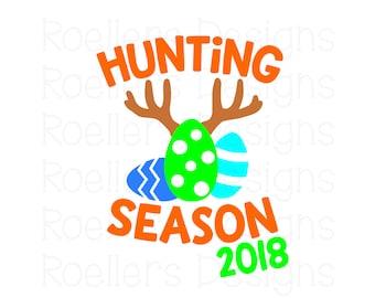 Hunting Season SVG, Cricut SVG, Cricut Cut File, Monogram, Svg, Easter Svg, boy svg, boy easter svg, Egg Hunt SVG, shirt, Boy Easter Shirt