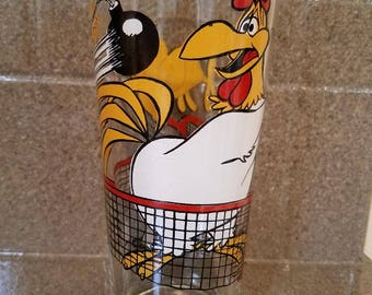 Foghorn Leghorn Pepsi Glass 1976