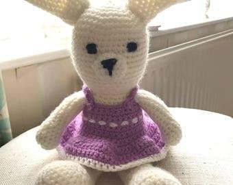 Handmade Crochet Rabbit