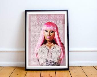 Nicki Minaj Poster Artwork Print