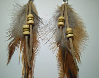 Boho Feathers Earrings