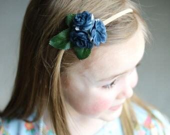 Blue flower Band
