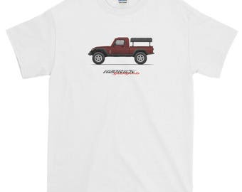 Hedrick Speedsports Camping Jeep pickup Short-Sleeve T-Shirt