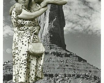 Monumental Love - Original analog collage