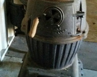 Old Army Type Heater. ASK questions if you are interested