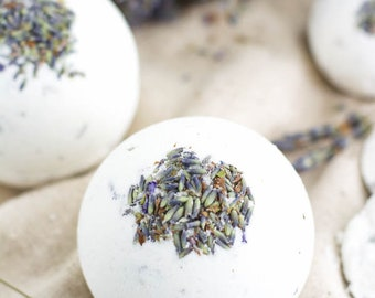 Lavender and Honey Bath Bombs - Bath Bomb - Mothers Day Gift - Lavender - Bath Fizzy - Easter gift - Gifts for Her - Wholesale Bath Bombs