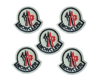 Moncler patch,hats patch,iron on down jackets patch,badges,applique