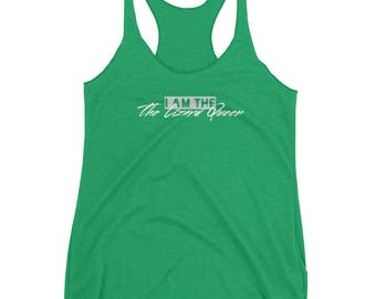 I Am The Lizard Queen Women's Racerback Tank