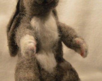 Needle Felted Bunny, Rabbit