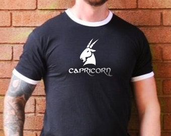 Capricorn Star Sign T-Shirt