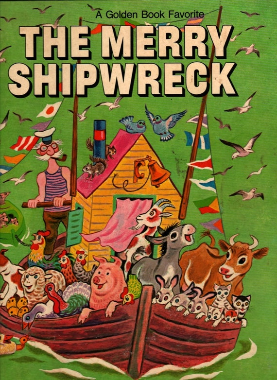 The Merry Shipwreck - Georges Duplaix - Tibor Gergely - 1970 - Vintage Kids Book