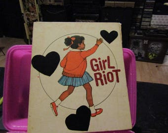 Girl Riot COLLAGE ART