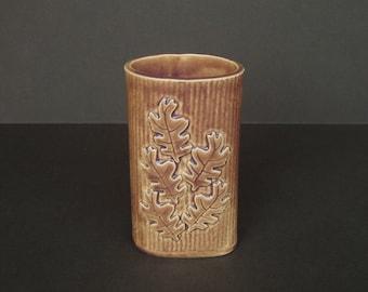 Oak Leaf Vase