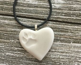 Angel Paw Memorial Porcelain Pendant 3