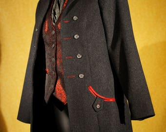Dapper Frock Coats----Custom Victorian Suits for Women