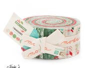 Evergreen Jelly Roll by Basic Grey for Moda Fabrics SKU# 30400 JR