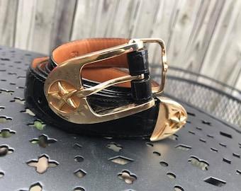 18KT and 14KT Gold Buckle Setby James Reid Ltd.