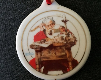 Vintage 1996 JCPenney Norman Rockwell Ornament