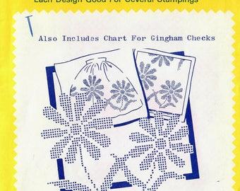 1980s Aunt Martha's Vintage Transfer Pattern Large Daisy Cross Stitch