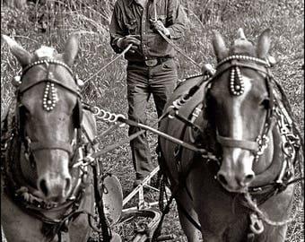 Farmer of the Skagit Valley, Clyde Keller photo, 1980