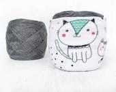 Cat Yarn Cozy- Yarn Keeper- Yarn Organizer- Yarn Storage- Yarn Bowl- Crochet Accessories- Cat Lover Knitting- Yarn Holder- Skein Coats