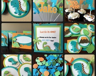 Dinosaur Party Package, Dinosaur Birthday Party, Dinosaur Party Banner, Dinosaur Baby Shower, Boy Birthday Party, Dinosaur Party Decorations