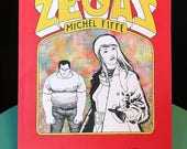 ZEGAS Comics Collection, Signed & Sketched by Fiffe, published by Fantagraphics