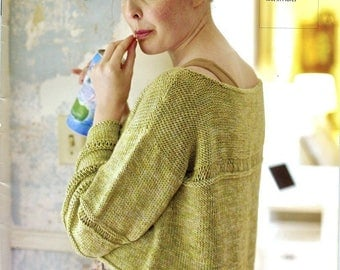 Berroco Knitting Pattern Book #332 Berroco Floret - 6 designs for women