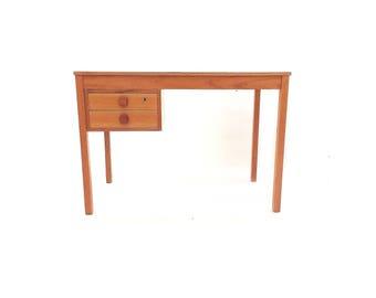 Vintage Domino Mobler Desk In Teak
