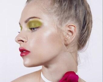 NEW Shipping from France /Fucshia Silk Camellia Brooch/Camellia Brooch/Camellia Brooch/Luxury gift/Couture Camellia brooch/Bridal couture/