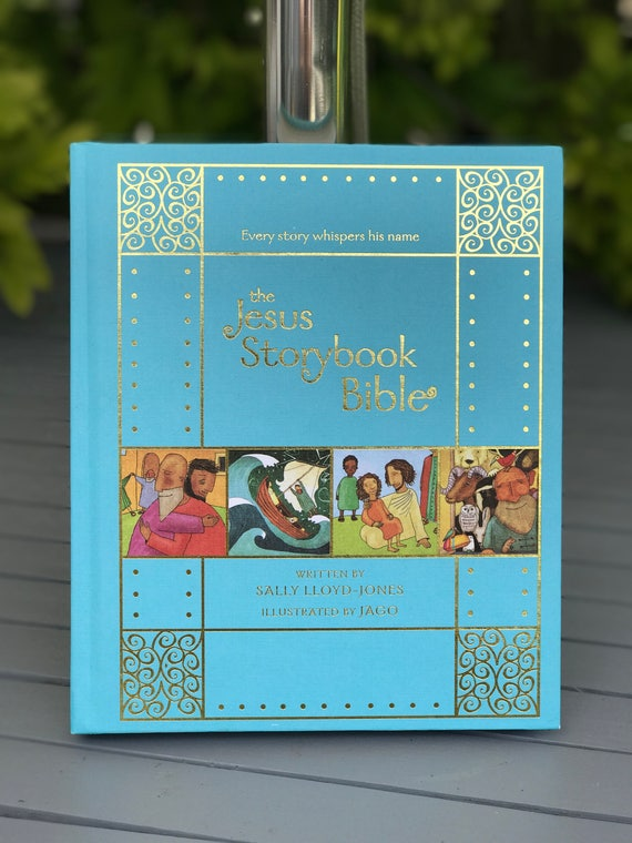 Signed book - The Jesus Storybook Bible Clothbound Gift Edition - by Sally Lloyd Jones