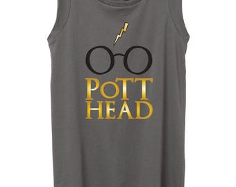Harry Potter Cap Sleeve Top, The Original Pott Head Design, The Perfect Gift for the Harry Potter Fan in your life