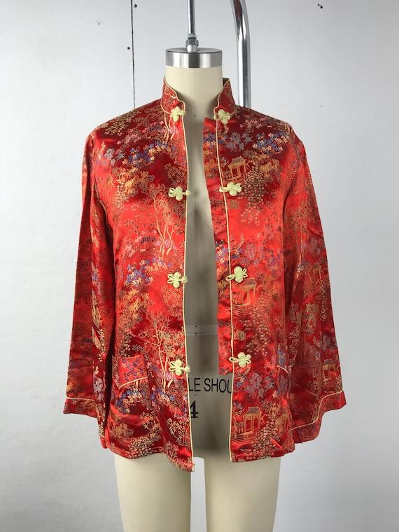 Asian Style Satin Jacket
