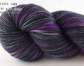 Porcelina - Pixel Yarn - Edge of The Moon - Limited Edition Sock Yarn - 2 Ply SW Blue Faced Leicester/Nylon