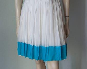 1960s Lilli Diamond Chiffon Mini Dress / New with Tags / 1960s Party Dress / 60s Mod Dress / Small
