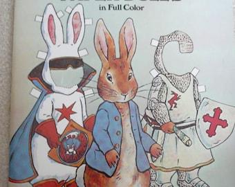 Peter Rabbit Paper Dolls, The Tale of Peter Rabbit, Dover Publication, MINT Condition