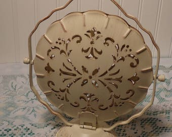 Vintage Three Tiered Serving Tray  -  Tiered Petit Four Server  - 17-514