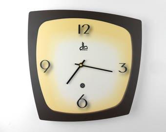 Horloge murale style vintage années 50