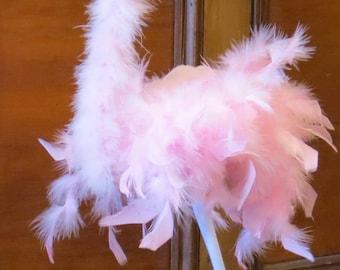 Pink Flamingo Marionette