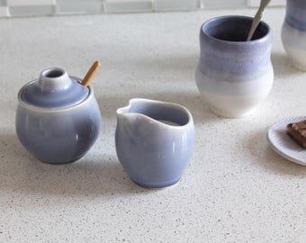 Ceramic Cream and Sugar Set
