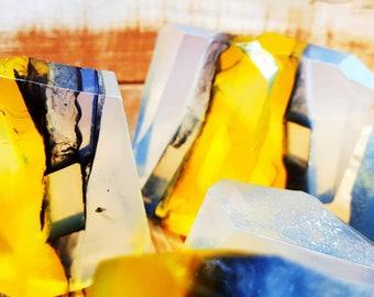 Smokey Quartz Crystal Soap