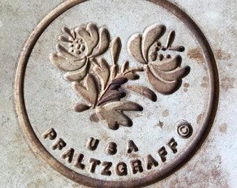 Vintage Pfaltzgraff Pizza Stone Stoneware Baking - #J2107