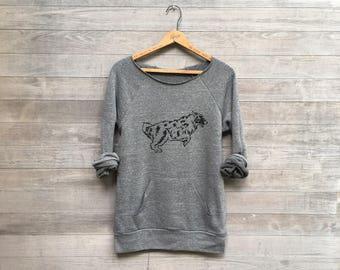 work it Australian Shepherd Shirt, Aussie Shirt, Dog Sweater, Aussie Gift, S,M,L,XL,2XL