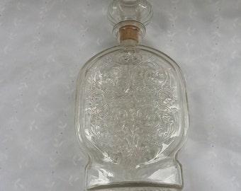Glass Alcohol Decanter Schenley Barware Container