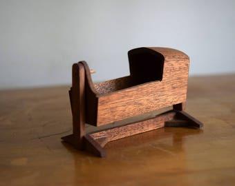 Vintage Wood America Designs Dollhouse Cradle - Miniatures / Dollhouse Furniture