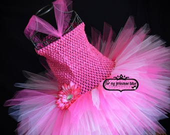 Pink Fairy Tutu Dress - pink princess dress, pink birthday outfit, fairy dress, fairy tutu, pink birthday tutu dress, pink tutu, pink theme