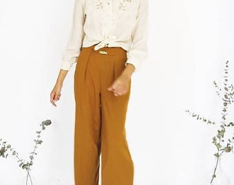 90s Loose Fit Trousers