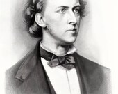 Frederic Chopin Portrait ...