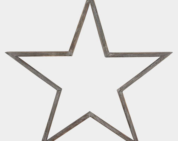 Wooden Stars from East of India, alternative wreath, wedding display, star theme, swedish star, rustic wedding, wooden decoration
